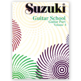 Suzuki Guitar School Volume 4