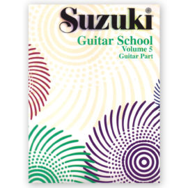 Suzuki Guitar School Volume 5