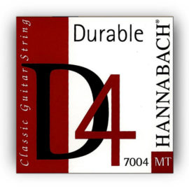 Hannabach 7004 Durable D4 Medium Classical Guitar Strings
