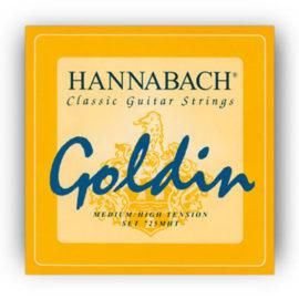 Hannabach Goldin Medium High Classical Guitar Strings