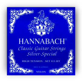 Hannabach Silver Special 815 High Classical Guitar Strings