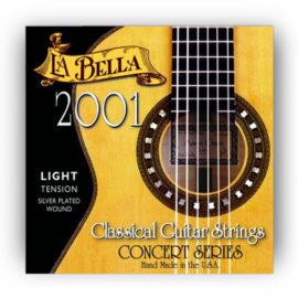La Bella 2001 Light Classical Guitar Strings