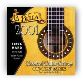 La Bella 2001 Extra Hard Classical Guitar Strings