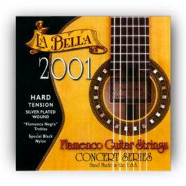 La Bella 2001 Hard Flamenco Guitar Strings