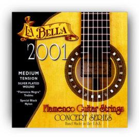 La Bella 2001 Medium Flamenco Guitar Strings