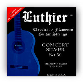 Luthier Concert Silver 30 Classical Guitar Strings