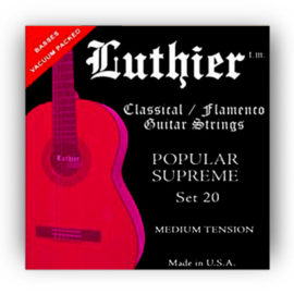 Luthier Set 20 Classical Guitar Strings