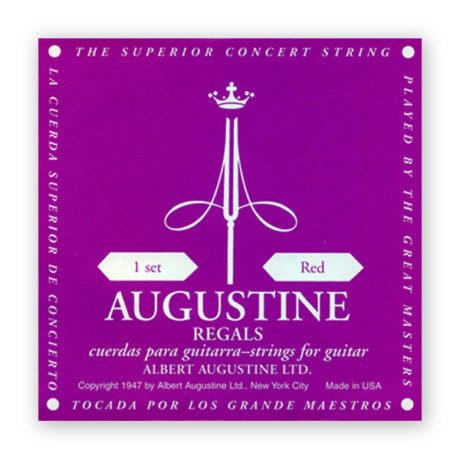 Agustine Regals Red Classical Guitar Strings