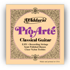 D'Addario EJ51 Recording Strings