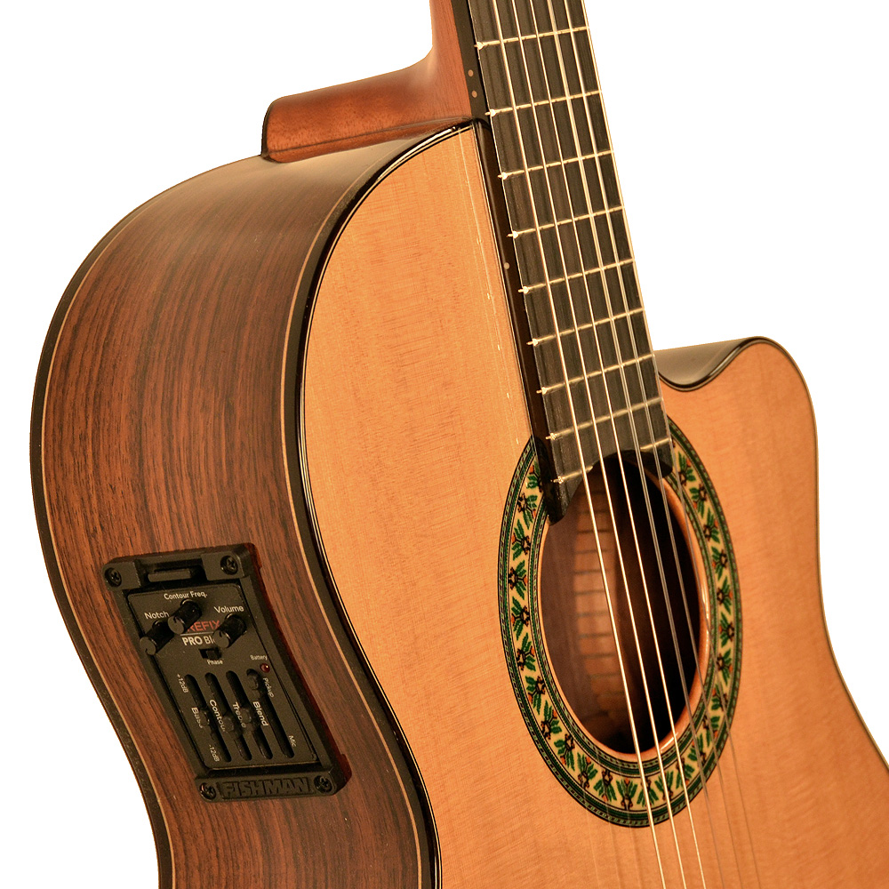 alhambra 5pcwe2 cutaway mcbr2t los angeles classical guitars. Black Bedroom Furniture Sets. Home Design Ideas
