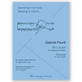 Gabriel Faure - Tilman Hoppstock