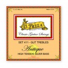 La Bella 411 Antique / Gut Trebles