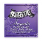 La Bella AP Argento Pure Silver Hand Polished Medium Tension
