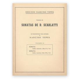 sheetmusic-yepes-scarlatti-vol-1