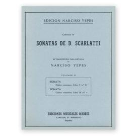 sheetmusic-yepes-scarlatti-vol-2