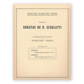 sheetmusic-yepes-scarlatti-vol-3