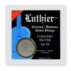 Luthier Concert Silver 30 Medium/Hard Tension with Super Carbon 101 trebles