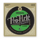 D'Addario Flamenco EJ25B with Black Trebles. Complete Set