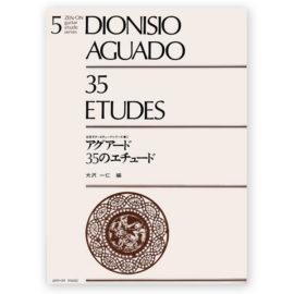 DIONISIO AGUADO 35 ETUDES