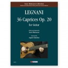 Legnani, Luigi. 36 Caprices Op. 20 for Guitar