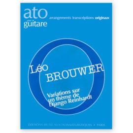 Brouwer, Variations Sur un thème de Django Reinhardt