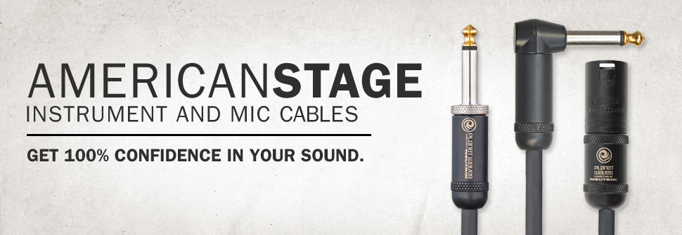 American-Stage Instrument -Microphone-Cables