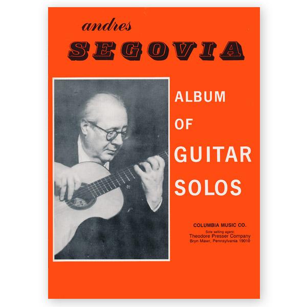 Andres Segovia album of guitar solos | eBay